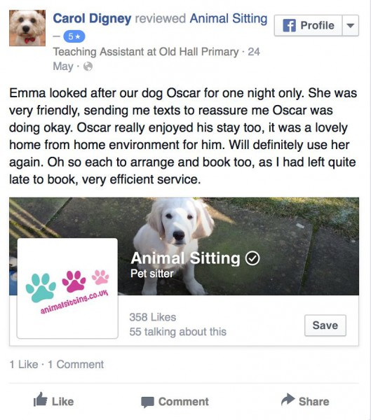 http://www.facebook.com/animalsitting/reviews
