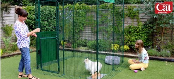 Omlet Outdoor Cat Run Image